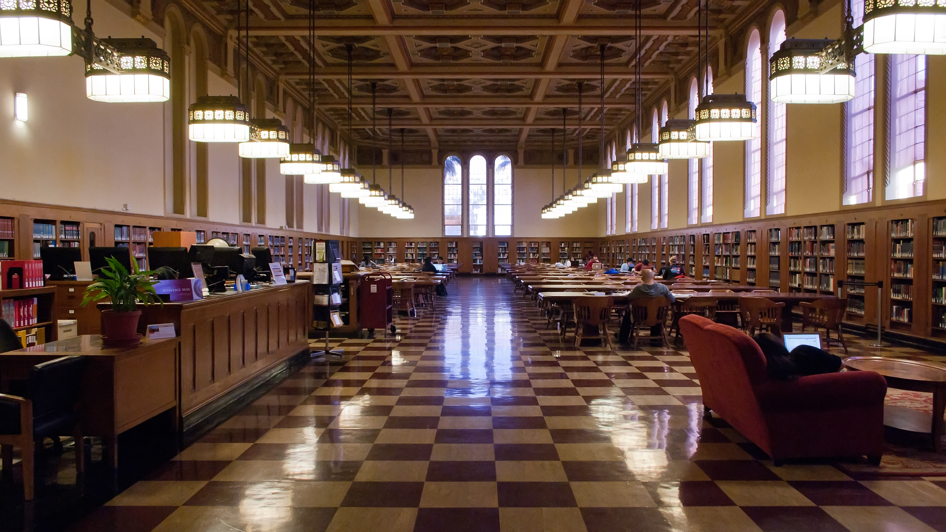 My Favorite Study Spot: Mudd Hall of Philosophy - Viterbi ... |Usc Library