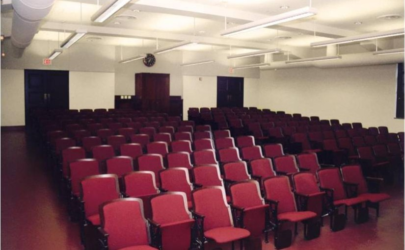 Caltech Kerckhoff Lecture Hall Renovation